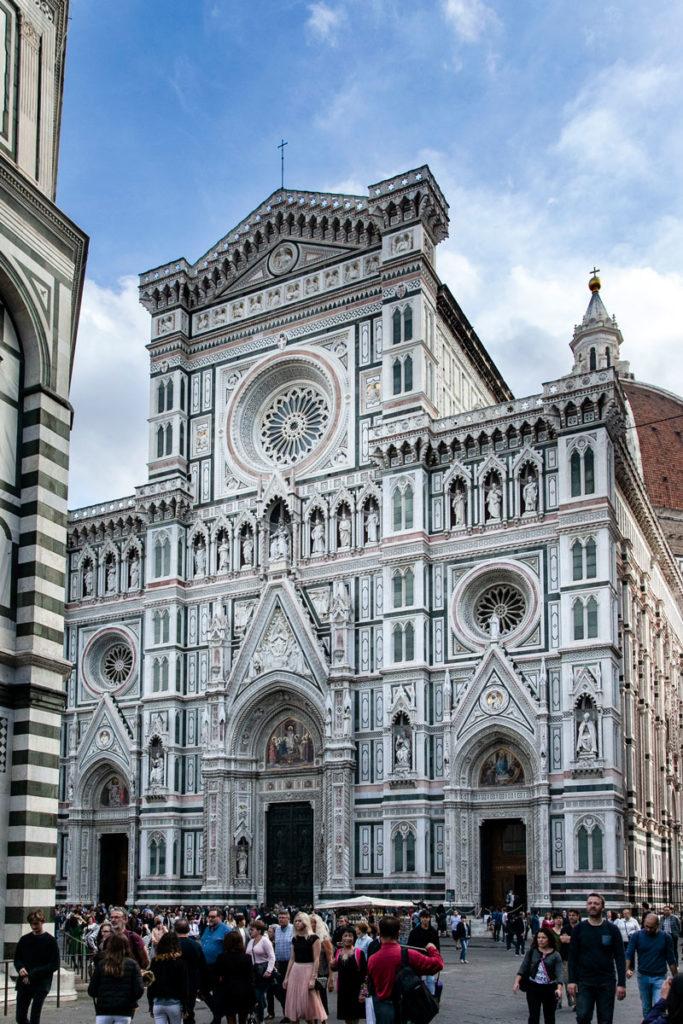 Facciata della Cattedrale di Santa Maria del Fiore a Firenze