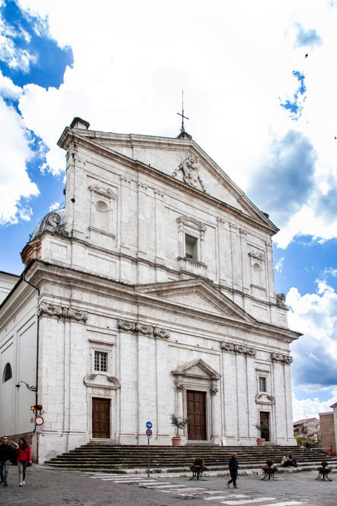 Facciata della Chiesa di San Filippo Neri