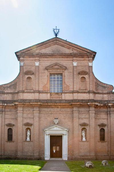 Facciata della Chiesa di San Girolamo