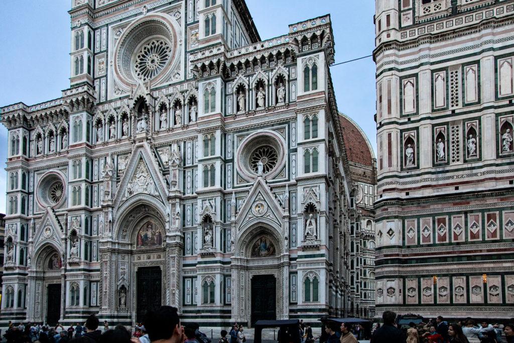 Facciata e Campanile del duomo di Firenze