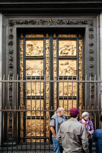 Formelle della Porta del Paradiso nel Battistero di San Giovanni