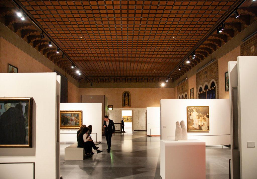 Gam Achille Forti di Verona dentro al Palazzo della Ragione