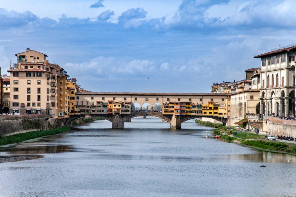 Il Ponte Vecchio sul Fiume Arno - Cosa vedere a Firenze