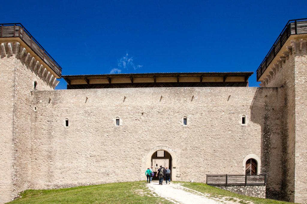 Ingresso alla Rocca Albornoziana