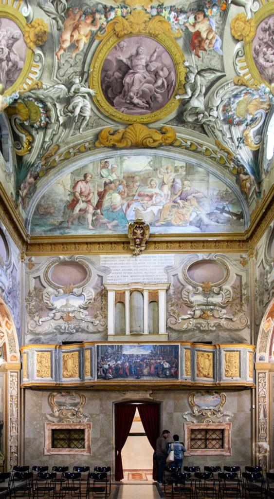 La piccola cappella sistina di Todi - Chiesa della Santissima Annunziata - Foto degli Interni
