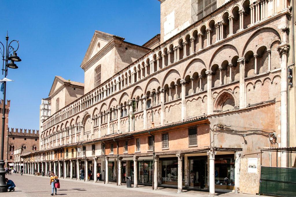 Logge della Cattedrale di San Giorgio Martire - Ferrara
