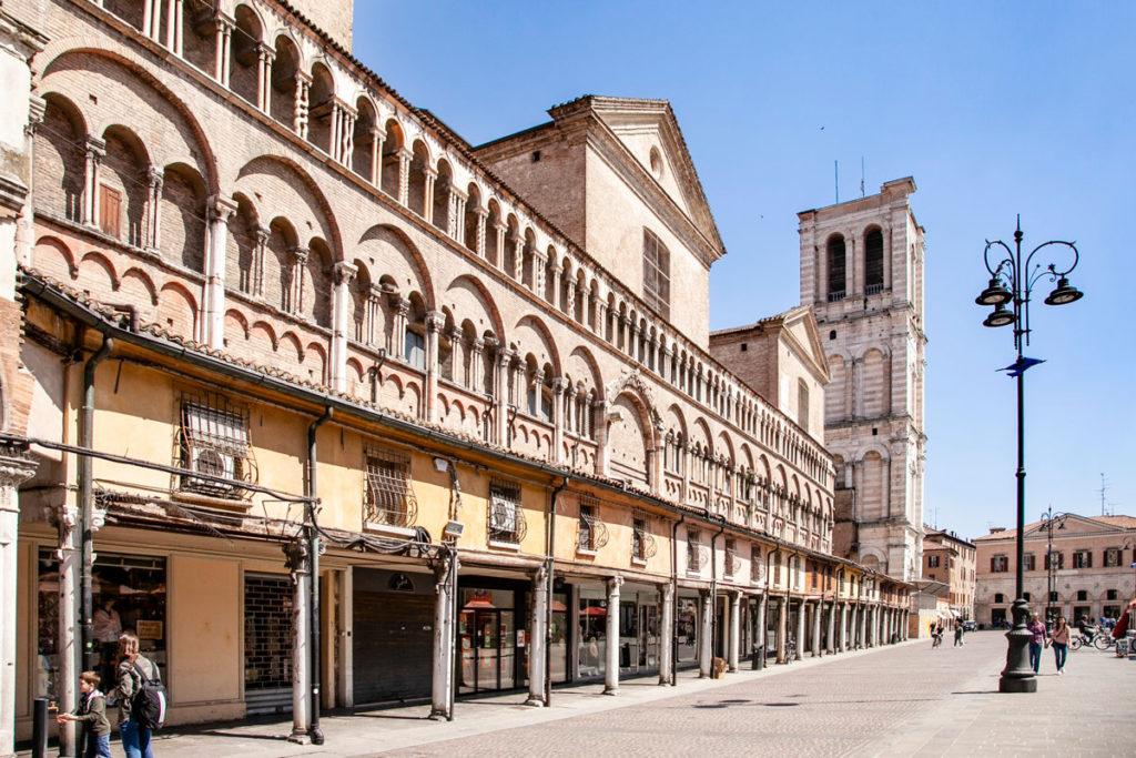 Logge della Cattedrale di San Giorgio Martire e Campanile