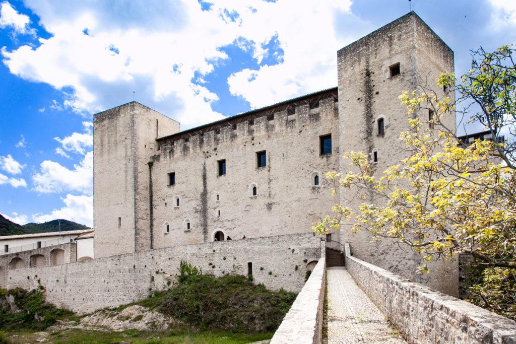 Mura della Rocca Albornoziana di Spoleto