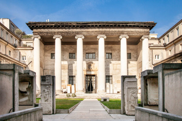 Museo Lapidario Maffeiano e Ingresso al Teatro Filarmonico di Verona