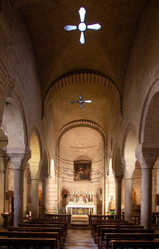 Navata Centrale della Chiesa di Santa Maria Antica