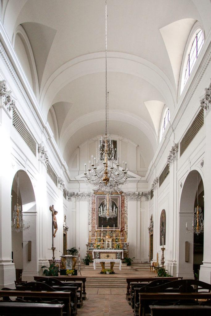 Navata Interna della Chiesa di San Ponziano