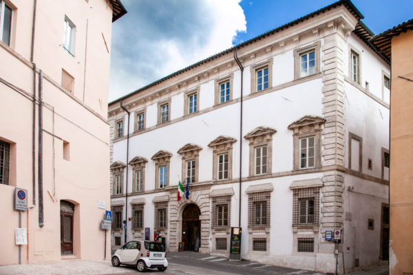 Palazzo Mauri - Biblioteca di Spoleto