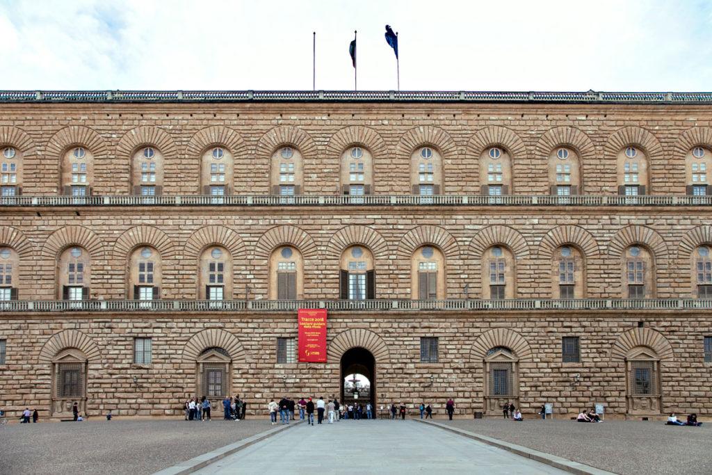 Palazzo Pitti di Firenze - Ingresso