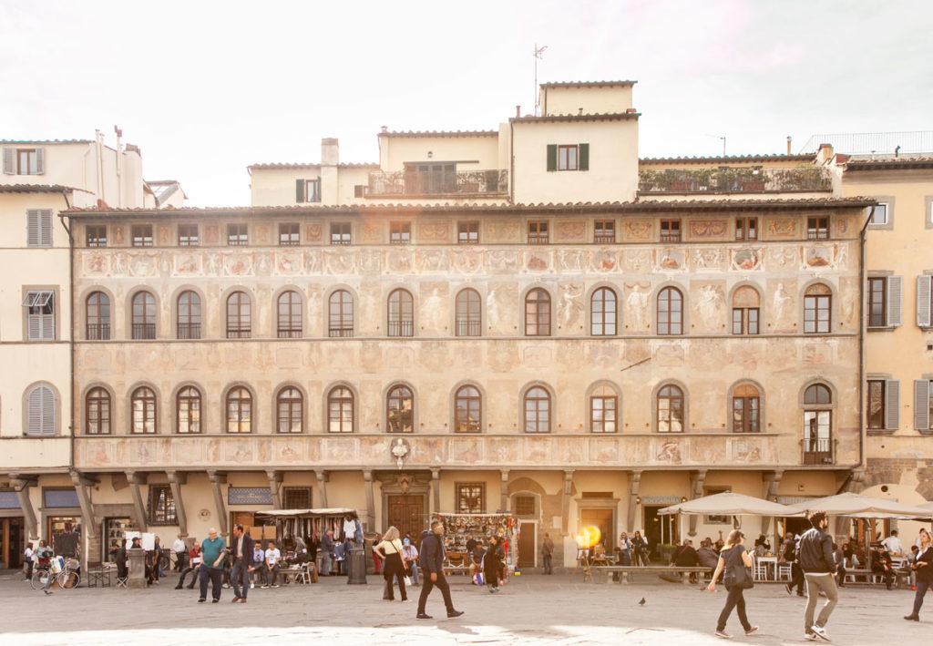 Palazzo di Antella in piazza Santa Croce a Firenze