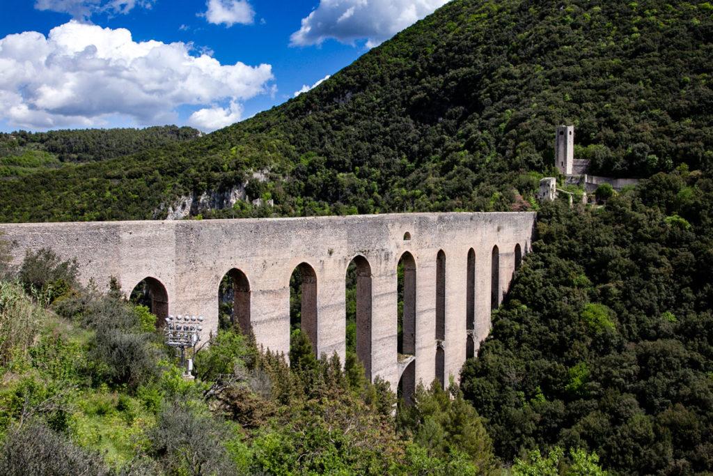 Panorama sulle arcate del Ponte delle Torri