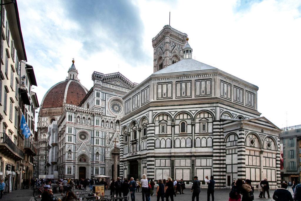 Piazza San Giovanni di Firenze - Battistero di San Giovanni