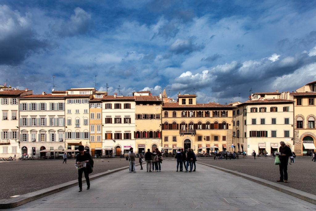 Piazza de' Pitti a Firenze - Case Storiche