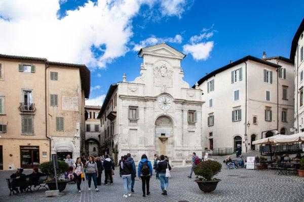 Piazza del Mercato di Spoleto