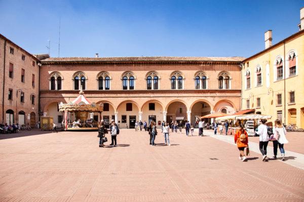Piazza del Municipio di Ferrara
