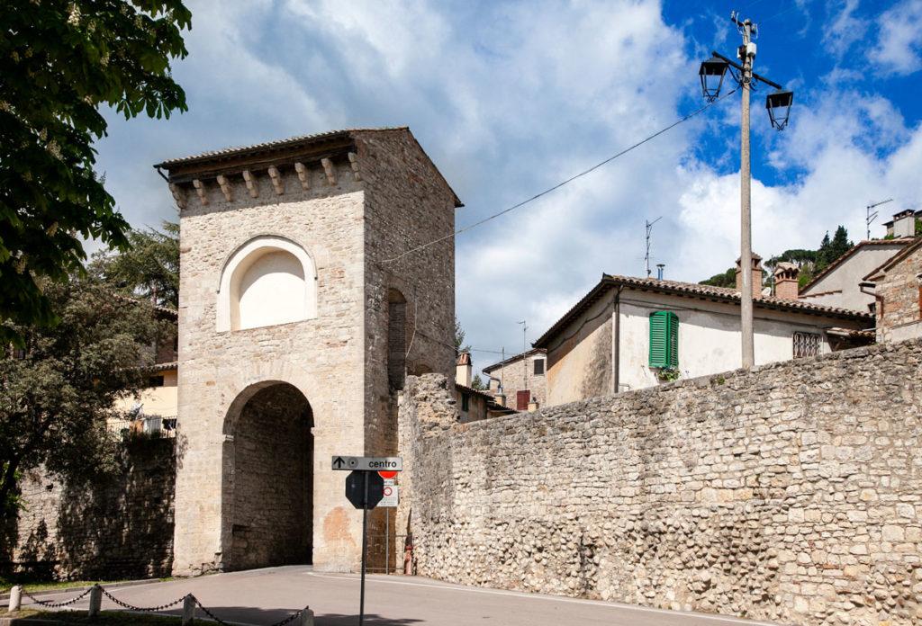 Porta Amerina - Porta medievale di Todi