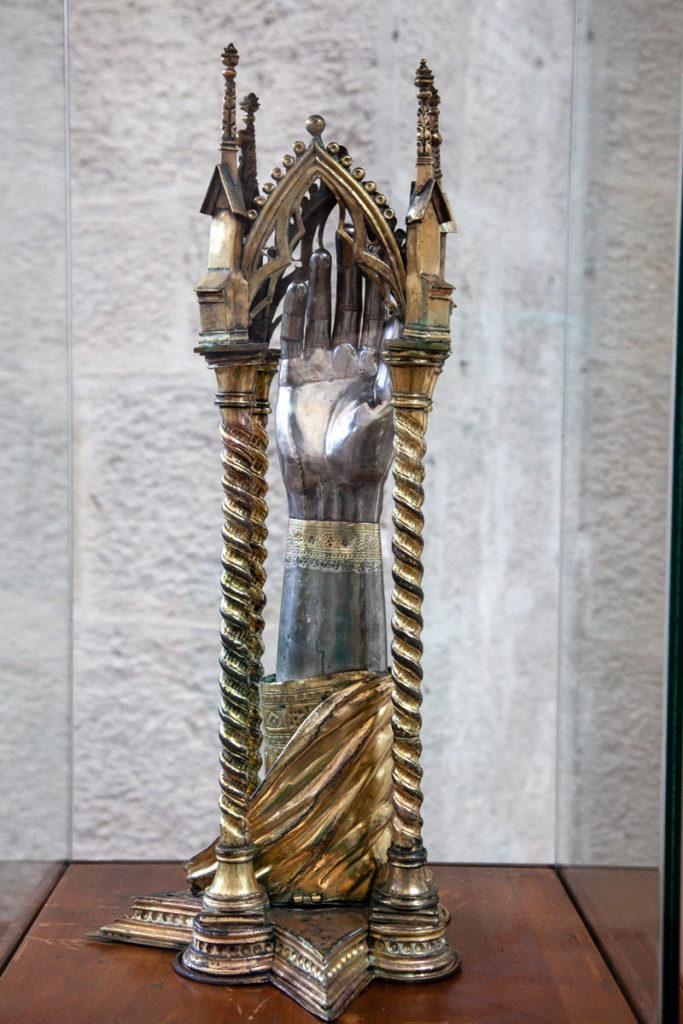 Reliquiario nella chiesa di San Fortunato