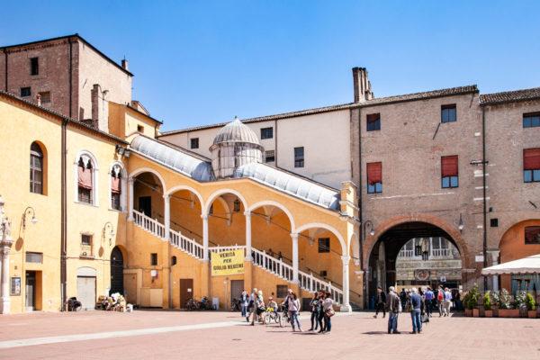 Scalone d'Onore del Palazzo del Municipio di Ferrara