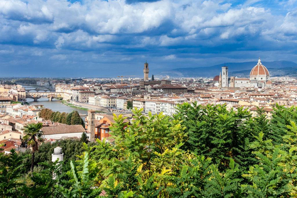 Sguardo Panoramico sul centro storico di Firenze - Piazzale Michelangelo