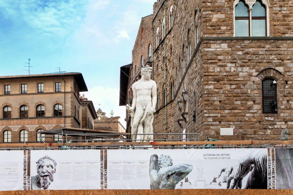 Statua del Nettuno in piazza della Signoria