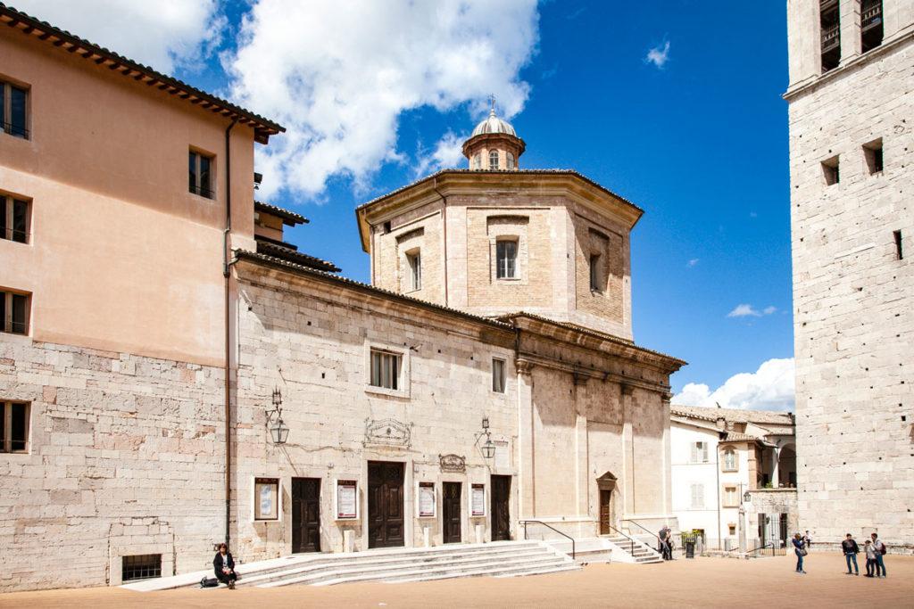 Teatro Caio Melisso e Ex Chiesa di Santa Maria della Manna d'Oro di Spoleto