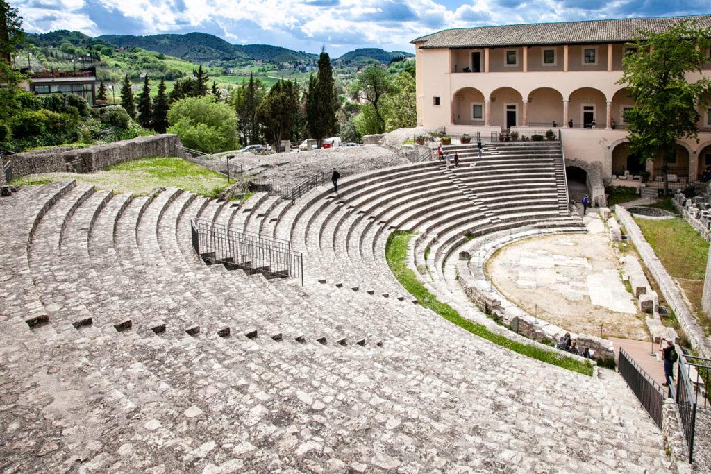 Teatro Romano del I secolo Avanti Cristo di Spoleto