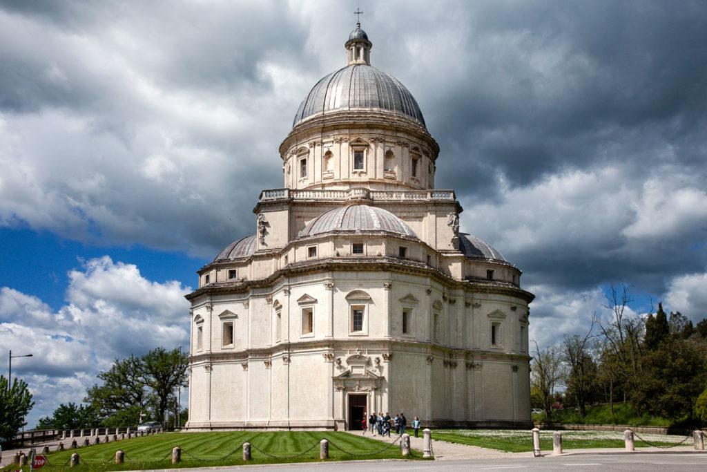 Tempio di Santa Maria della Consolazione - Rinascimento a Todi - Vista Esterna