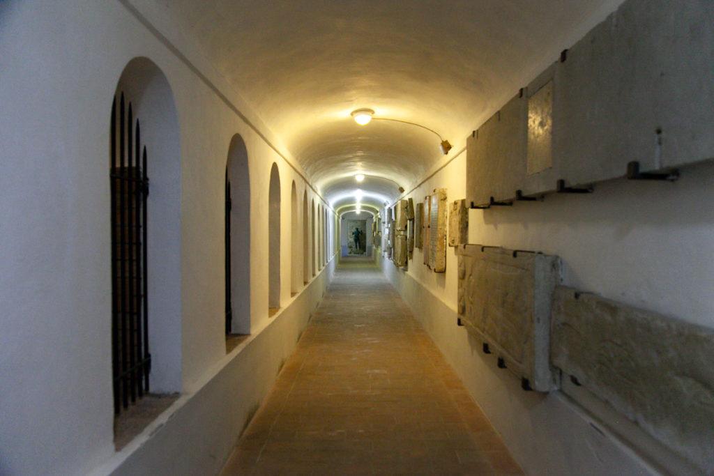 Tesoro della Cattedrale - Corridoio Sotterraneo
