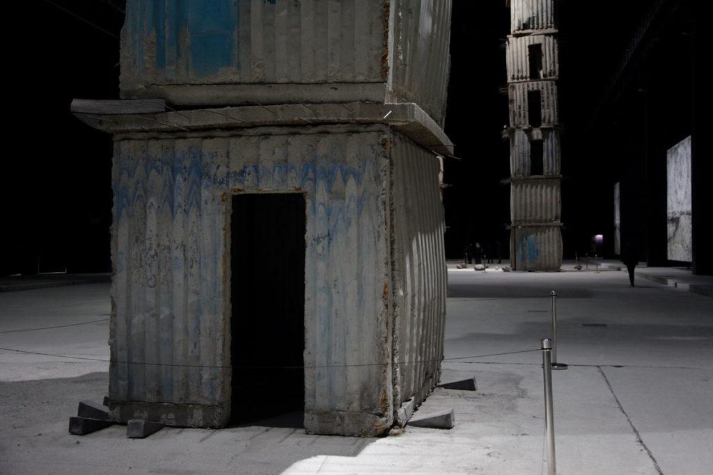 Torre Linee di Campo Magnetico - Base - I Sette Palazzi Celesti di Kiefer