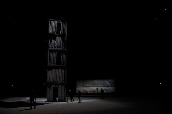 Torre Sefiroth e dipinto Die Deutsche Heilslinie
