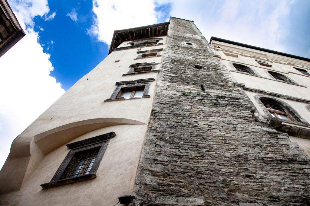 Torre dell'Olio di Spoleto inglobata in palazzo Vigili