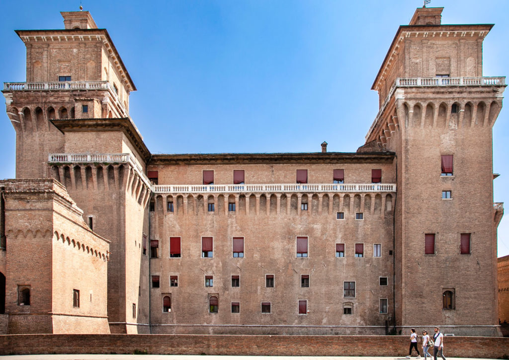 Torri del Castello Estense di Ferrara