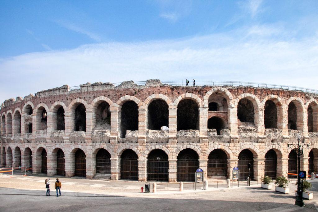 Veduta Panoramica dell'Arena di Verona