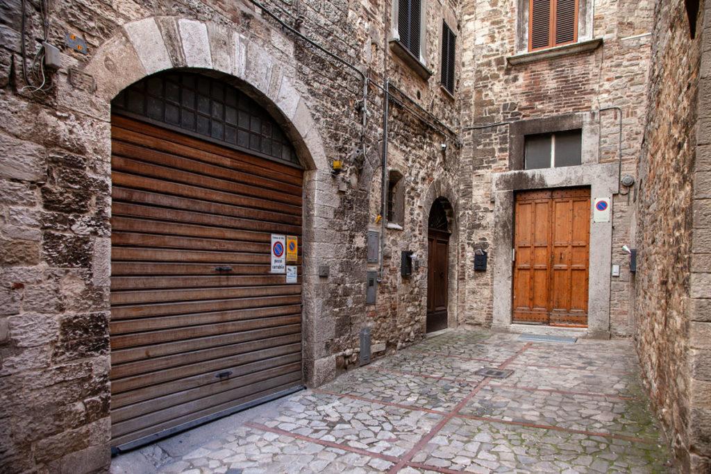 Vicoli della città di Todi