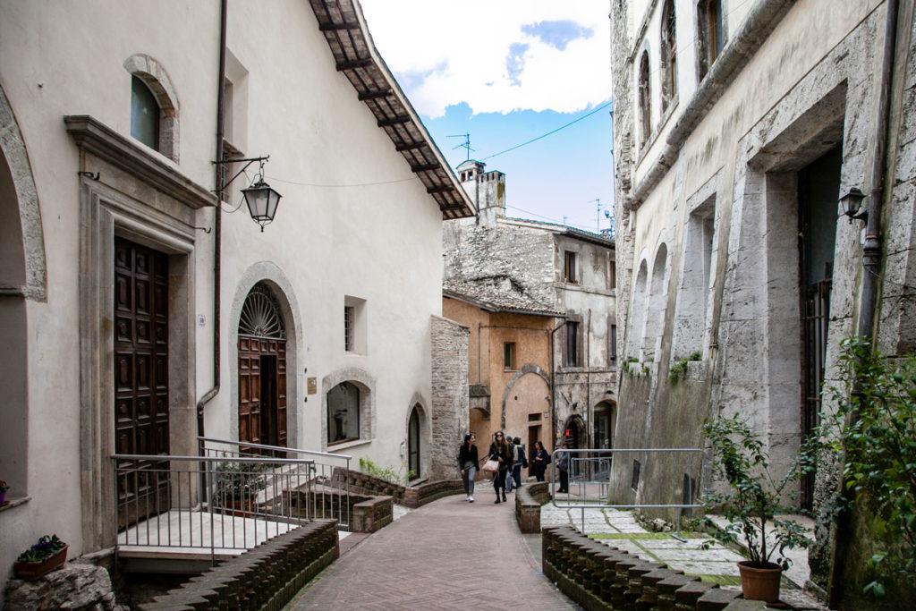 via Porta Fuga - Spoleto