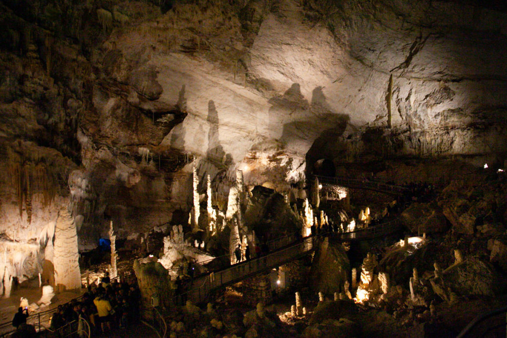 Abisso Ancona - la grotta più grande d'Europa - Grotta di Frasassi