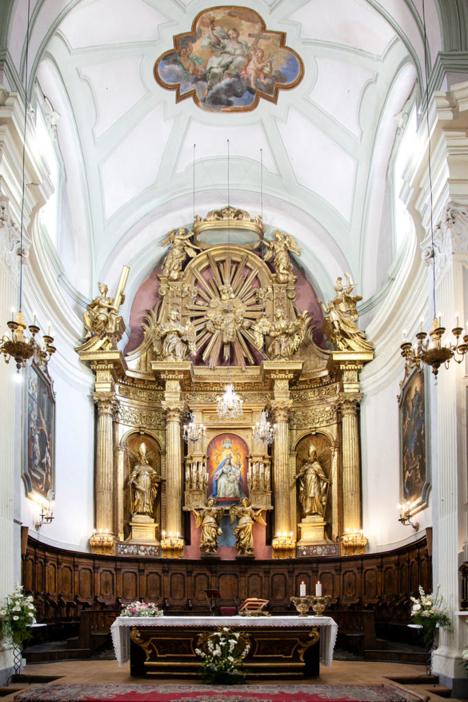 Altare della chiesa di sant'Agostino