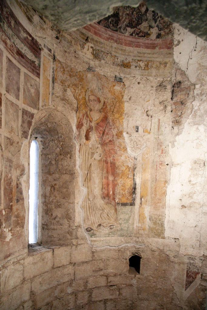 Antichi affreschi nella chiesa di Sant'Emiliano - Duomo di Trevi