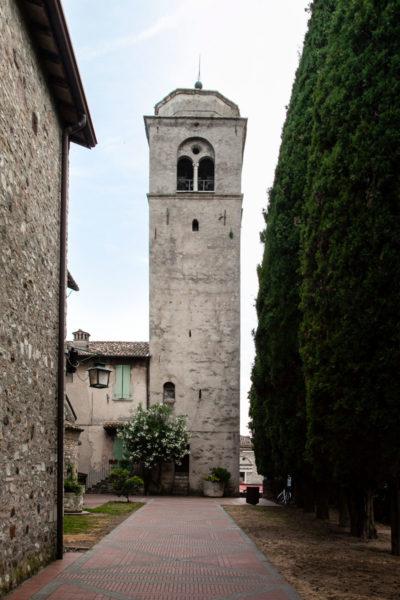 Campanile della chiesa di Santa Maria Maggiore a Sirmione