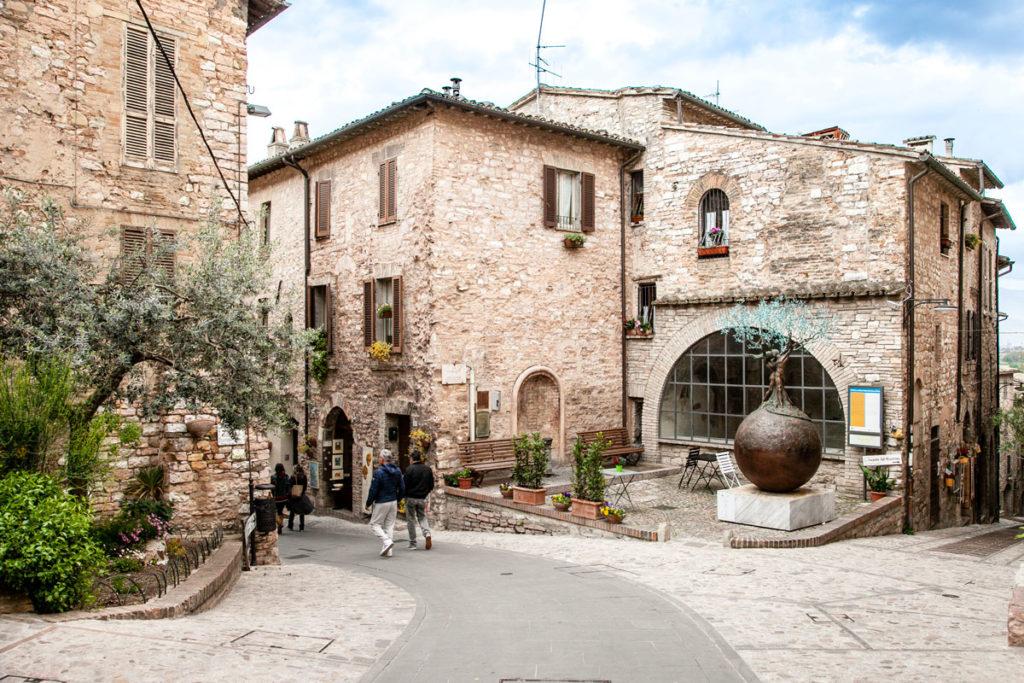 Cappella di Sant'Anna o Cappella Tega - Spello