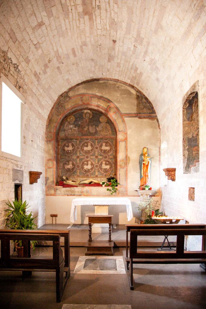 Cappella e Affreschi della Basilica di Santa Maria Infraportis