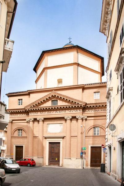 Chiesa del Suffragio - Facciata Neoclassica