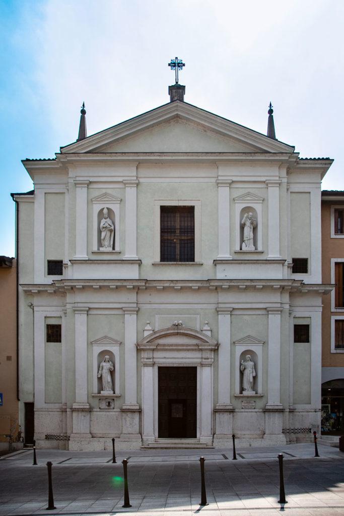 Chiesa della Visitazione di Salò - Facciata Esterna