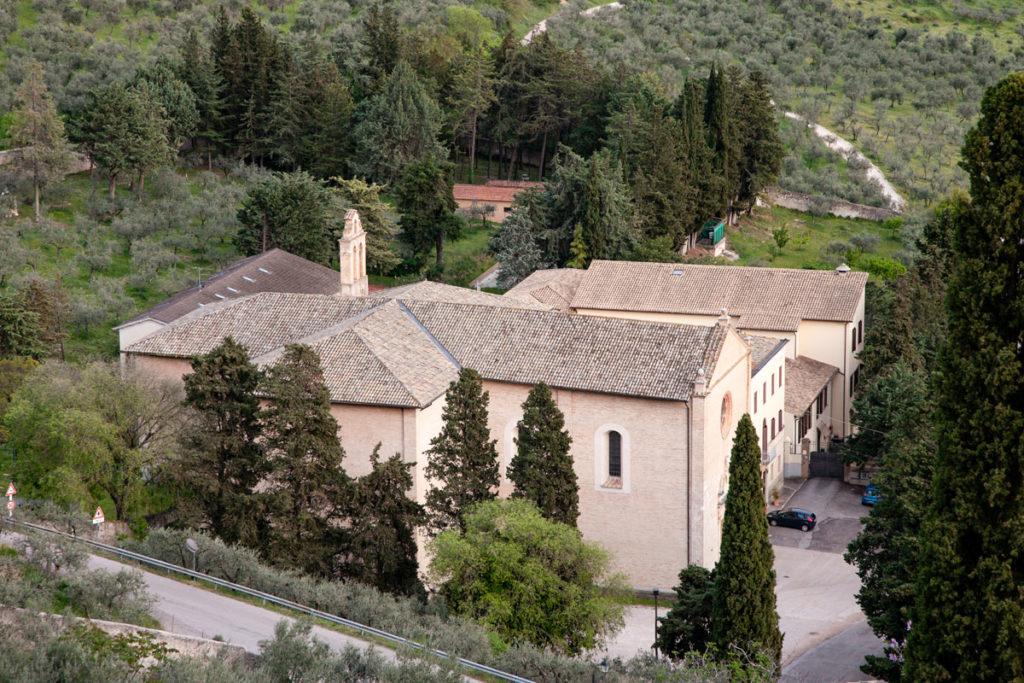 Chiesa delle Lacrime a Trevi