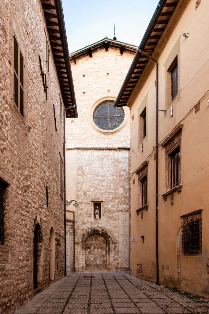 Chiesa di Sant'Emiliano tra le case - Trevi