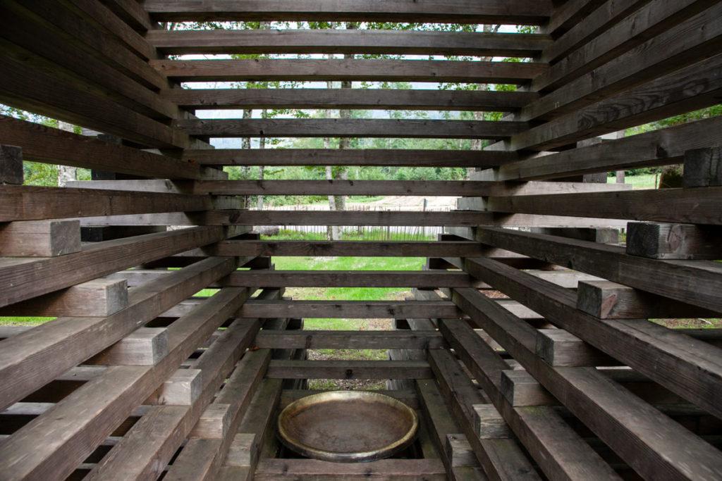 Dettaglio del Riondolo a Villa Strobele - Arte Sella